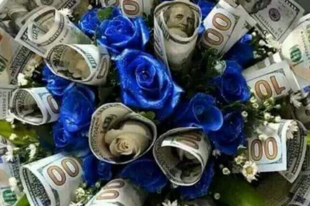 お金の花束